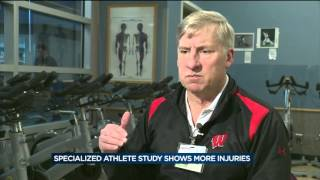Study shows high school athletes at greater risk to lower body injury