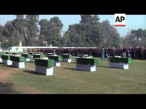 Funerals held for Pakistani soldiers killed in alleged NATO attack