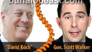 Koch Whore: Wisconsin Gov. Scott Walker