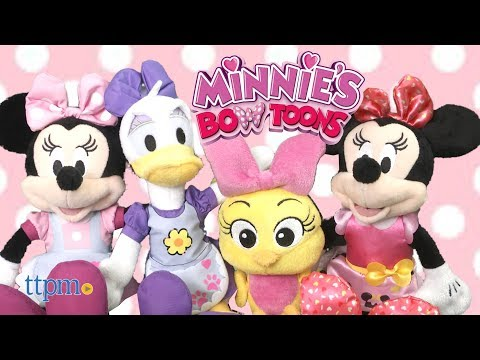 Stuffed Minnie Mouse & Friends From Just Play