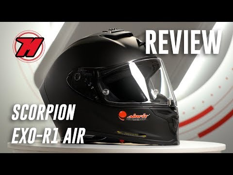 Review SCORPION EXO-R1 AIR, el casco RACING por menos de 400€