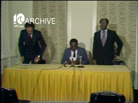 WAVY Archive: 1979 Vernon Jordan Reaction-Iranian Hostages