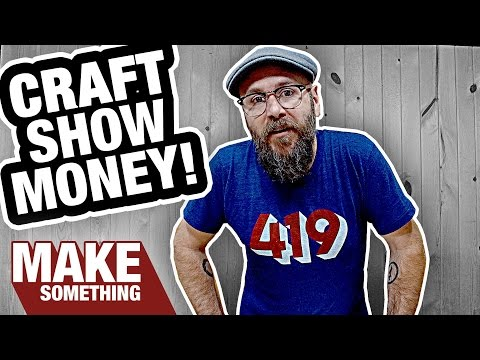 Craft Show Checklist and How Much Money I Make