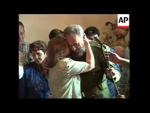 Castro comments on Cuba's image in the USA
