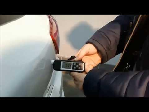 Толщина лакокрасочного покрытия Hyundai Creta