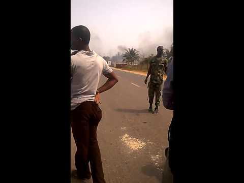 Chikason gas plant explosion/blast in Nnewi North Anambra state Nigeria