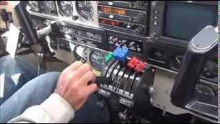 Un vuelo de Salta a Cafayate en un Piper Seneca 2