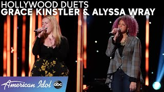 Grace Kinstler & Alyssa Wray's Duet Performance Snatched Katy Perry's Wig Off! - American Idol 2021