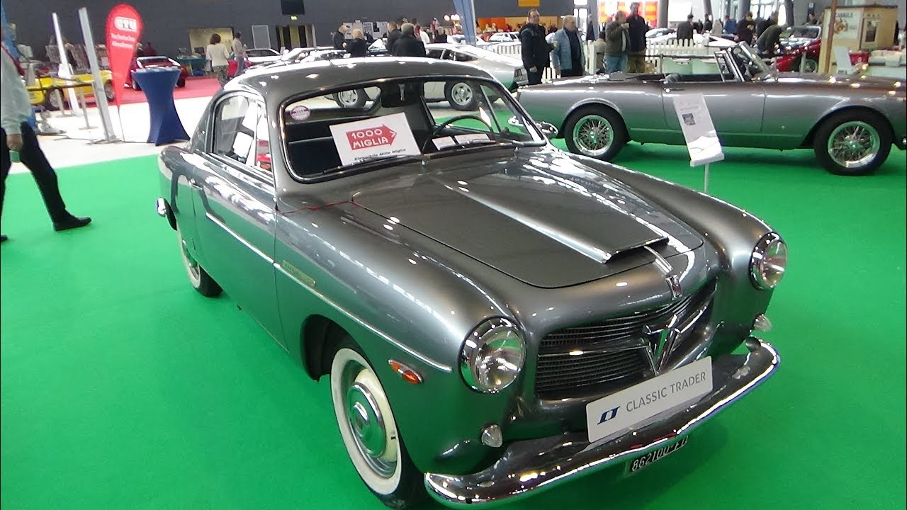 1954 Fiat 1100-103 TV - Exterior and Interior - Retro Classics ...