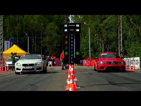 BMW M6 Vs Mercedes C63 AMG Vs Audi S6