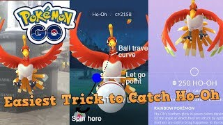 How to Catch Ho-Oh in Pokemon Go? Easiest Trick to Catch Ho-Oh