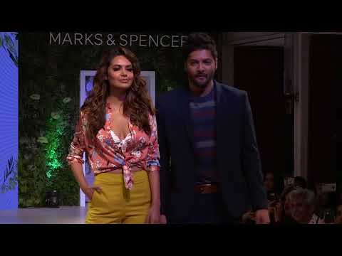 Esha Gupta & Ali Fazal Walk The Ramp For Mark & Spencer's 2018 Collection Launch