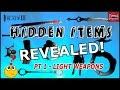 Infinity Blade 3: HIDDEN ITEMS REVEALED! PT 1- LIGHT WEAPONS