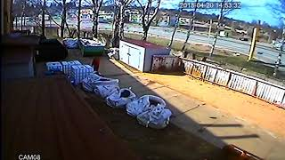 Смотреть видео Момент Аварии М1 Москва - Смоленкск Ярцево Роснефть онлайн