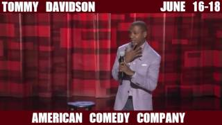 Tommy Davidson June 16-18 @ American Comedy Co.!