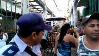 Protesta en La Habana Vieja por decomiso de alimentos