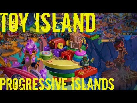 Monster Legends - Toy Island - Progressive Island