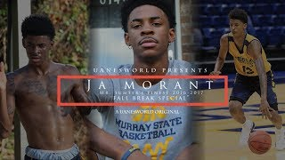 "JA MORANT ""Mr. Sumter\'s Finest 2016-2017\"" VISITS HOME DURING HIS FALL BREAK FROM COLLEGE"