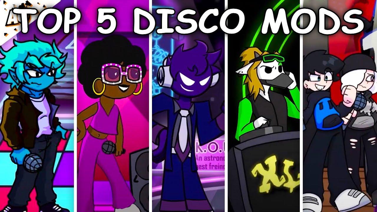 Top 5 Disco Mods - Friday Night Funkin'