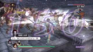 Musou Orochi Z - Kotaro Fuuma, Nene, Hanzo Hattori Dramatic Gameplay (HD)