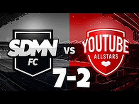 Sidemen FC VS Youtube Allstars 7-2 All Goals and Highlights (Charity Match) HD