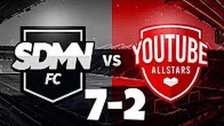 Sidemen FC VS Youtube Allstars 7-2 All Goals and Highlights (Charity Match) HD