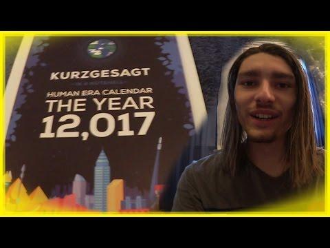 Kurzgesagt Human Era Calendar - Unboxing Vlog