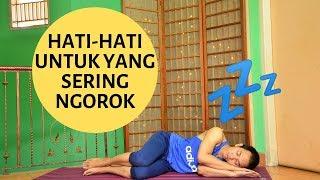 Cara Alami Menghilangkan Sifat Dengkur  Saat Tidur.