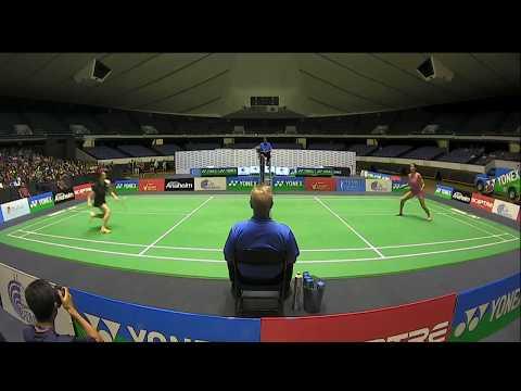 Yonex US Open 2017   Badminton F M4-XD   Kim/Shin vs Seo/Kim