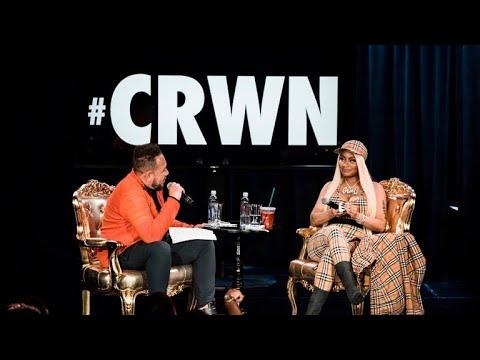 Download Nicki Minaj Tidal  / CRWN Interview