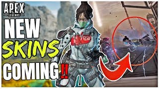 NEW SKINS COMING! WRAITH RESKIN + COLLECTION EVENT EXCLUSIVES! Apex Legends Season 4 System Override