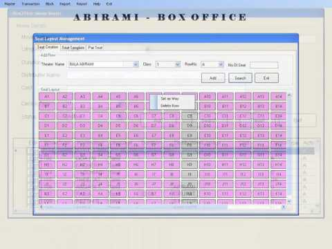 Box Office Theatre Ticket Software System