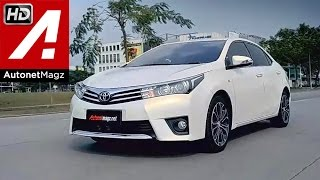 Test drive All New Corolla Altis Indonesia by AutonetMagz