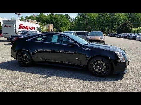 2014 cadillac cts v coupe for sale at williamsburg chrysler youtube. Black Bedroom Furniture Sets. Home Design Ideas