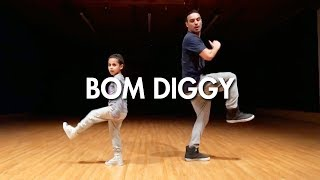 Gambar cover Zack Knight x Jasmin Walia - Bom Diggy (Dance Video) | Mihran Kirakosian Choreography