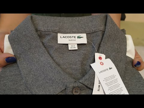 LACOSTE Polo Shirt - Unboxing