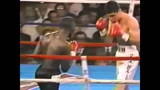 Oscar De La Hoya Vs Jeff Mayweather - Knockout! Golden Boy!