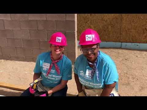 National Women Build Week ABQ
