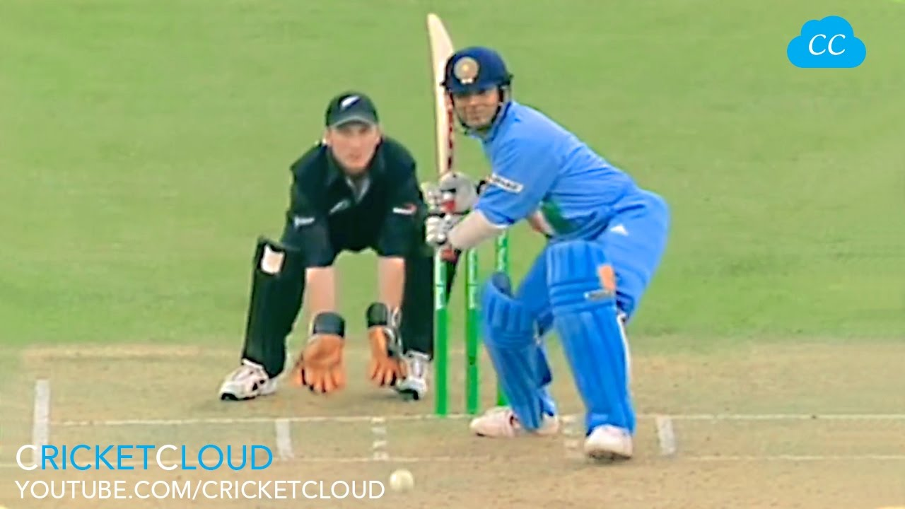 sachin tendulkar on beast mode !! most aggressive batting vs nz