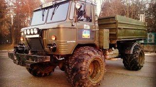 """Газ 66 дизель и на арочных колесах 44""""  Лучший в Украине."""