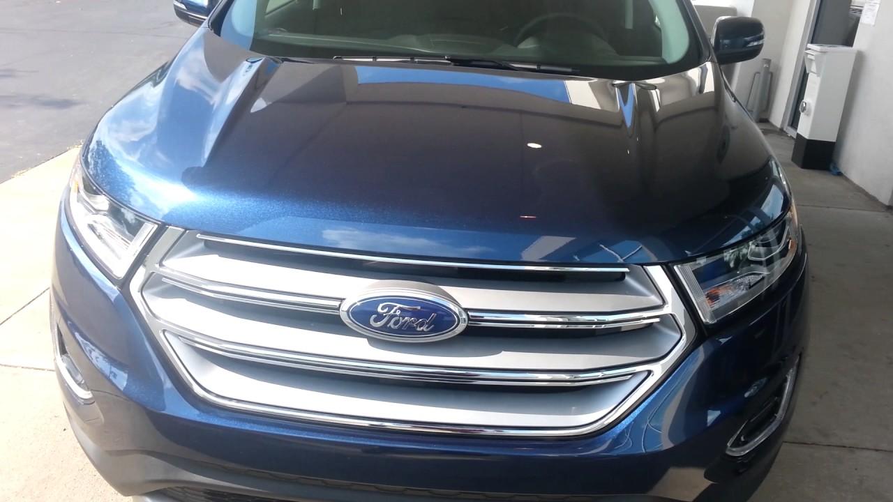 Ford Edge Sel Blue Jean Blue