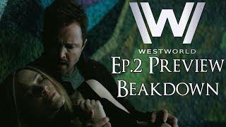 ရှေ့အပတ်များတွင် Westworld နောက်တွဲယာဉ်ပြိုကွဲခြင်း (Westworld Trailer Explained)