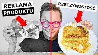REKLAMA JEDZENIA vs. RZECZYWISTOŚĆ - PIZZA I INNE!