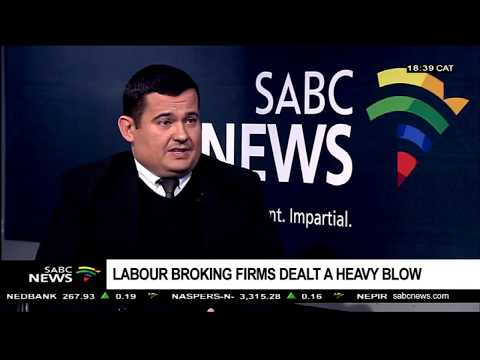 Reaction to Con Court's decision on labour brokers: Grant Wilkinson