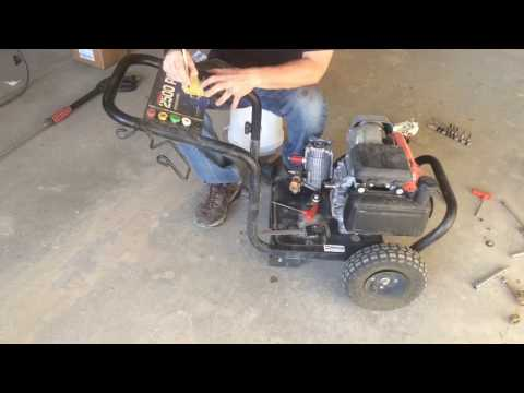 Excell XR2500 Pressure Washer Pump Replacement