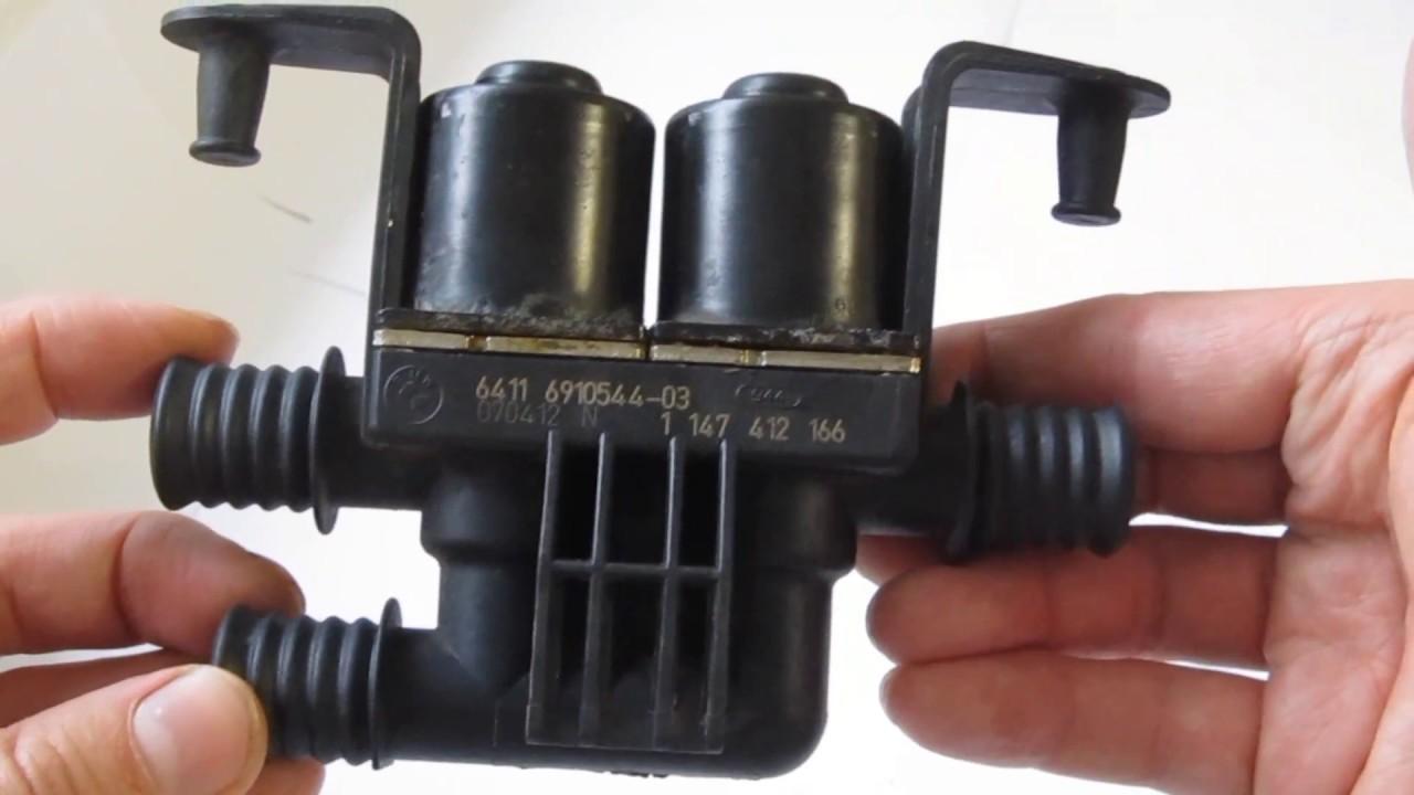 Ремонт клапанов печки на Bmw // Варианты восстановления