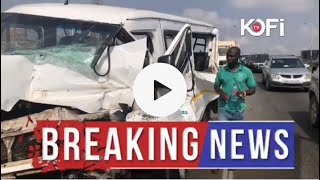 Breaking news: 8 cars crash at Mile 7 Highway #KofiTV