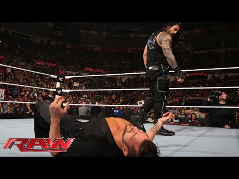 Thumbnail: Roman Reigns silences Fandango: Raw, December 15, 2014