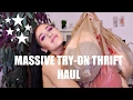 MASSIVE VV TRY-ON THRIFT HAUL 2017
