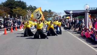 潟上市の道の駅「てんのう」で行われた「てんのう6周年記念祭」 ヤート...
